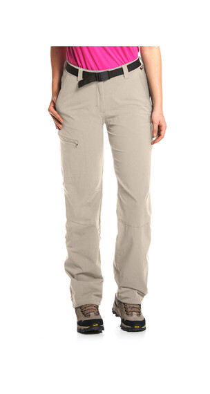 Maier Sports Lulaka Hose roll up Damen feather gray
